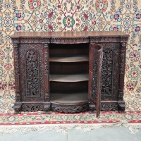 Colonial carved hardwood furniture