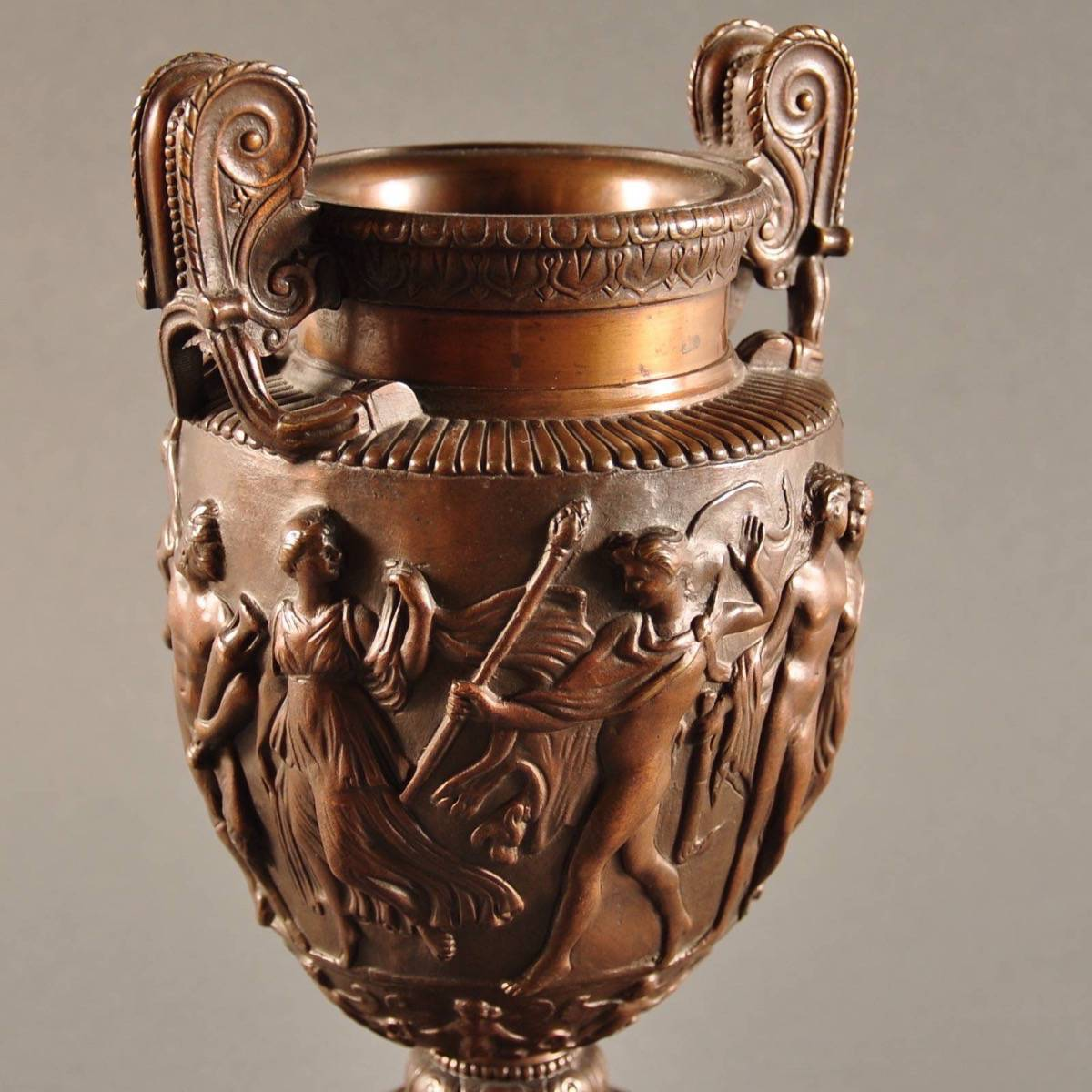 Roman volute krater vase de grande decorative object bronze vase in ancient roman style a so called volute krater reviewsmspy