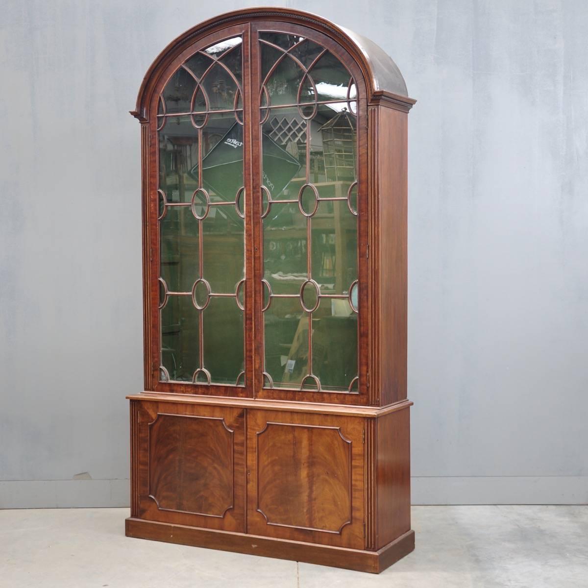 English Vitrine Cabinets De Grande Antique Furniture