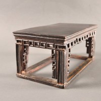 Antique provincial Chinese low tea table