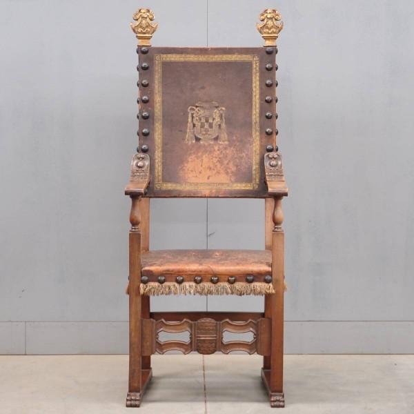 Antique Spanish armchair