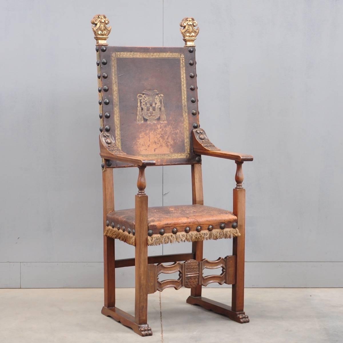 Charming Antique Spanish Armchair