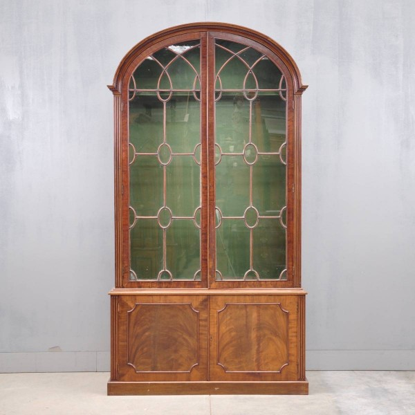 English vitrine cabinets George III