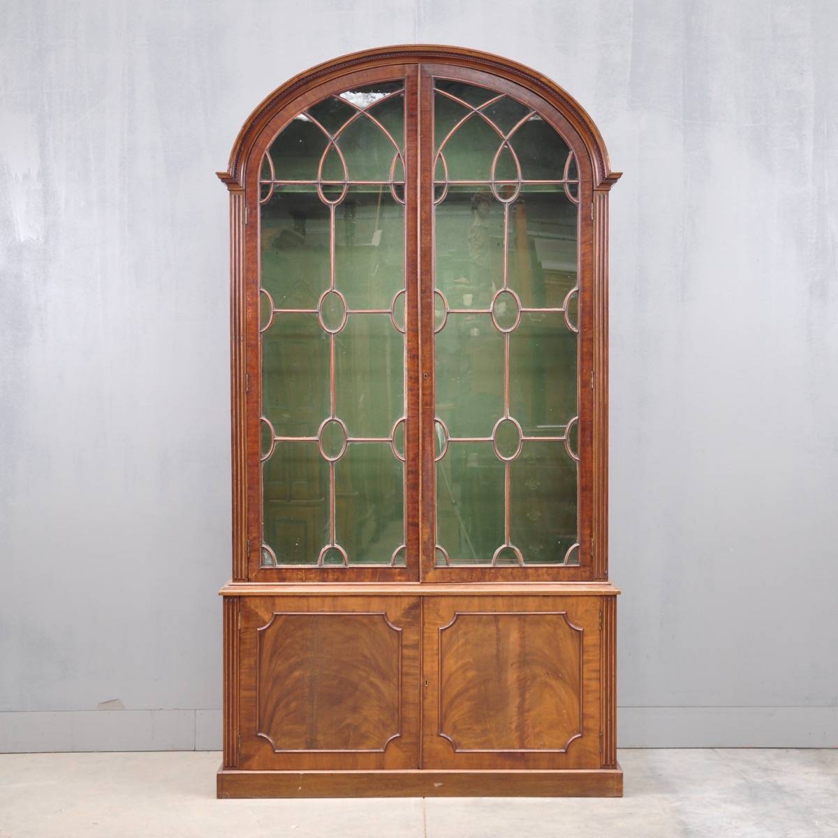 English vitrine cabinets George III - English Vitrine Cabinets De Grande Antique Furniture