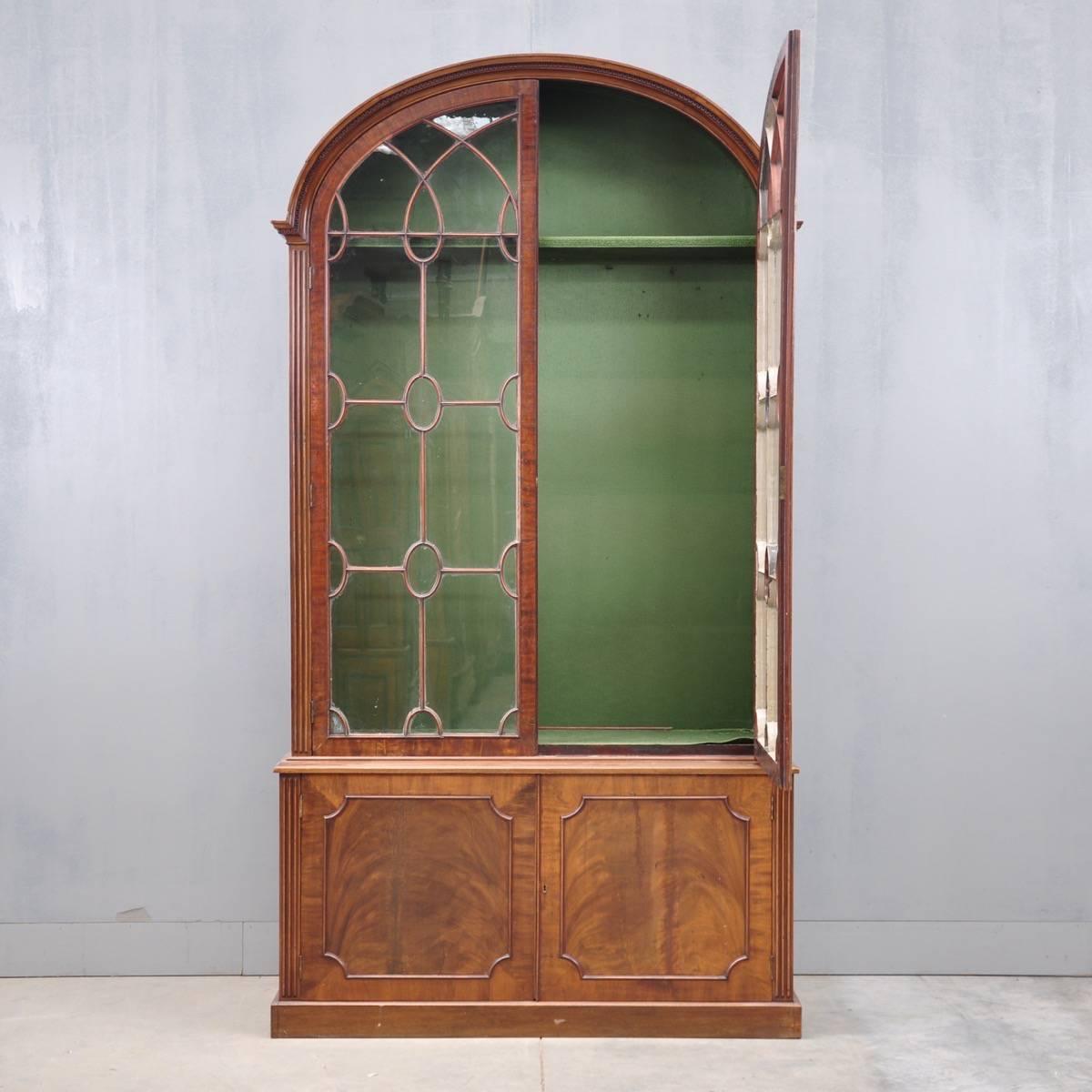 British Antique Vitrine Cabinets George III