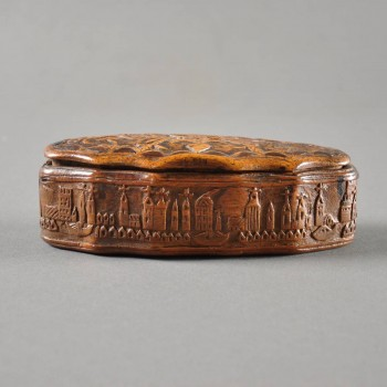Dutch snuff box of Baroque form