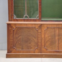 British antique vitrine cabinets George III
