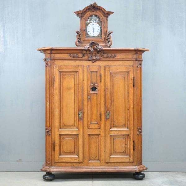 Ardennes clock cupboard