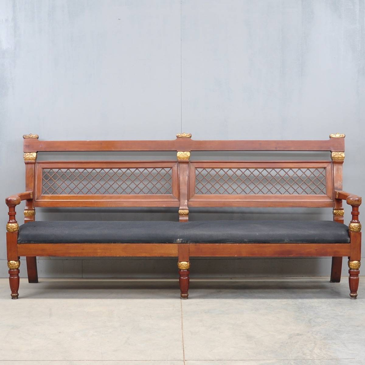 Nordic empire style hall bench de grande antique furniture for Nordic furniture style