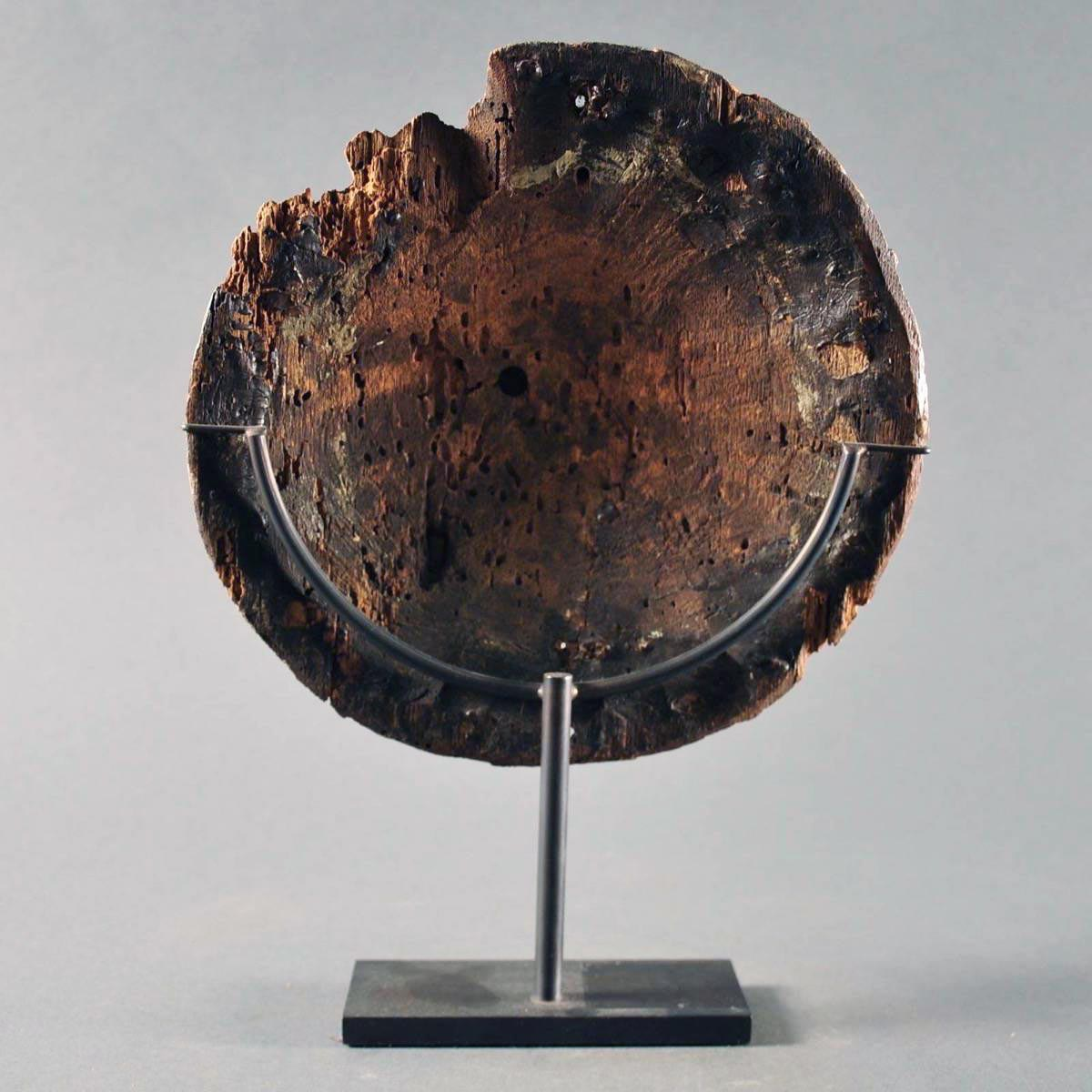 Carved Circular Panel De Grande Haute 233 Poque Objects