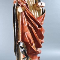 Late Gothic Figure of the Virgin Mary