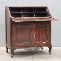 Antique Bureau de Port in the Louis XV style