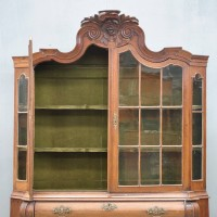 Impressive Dutch Oak vitrine