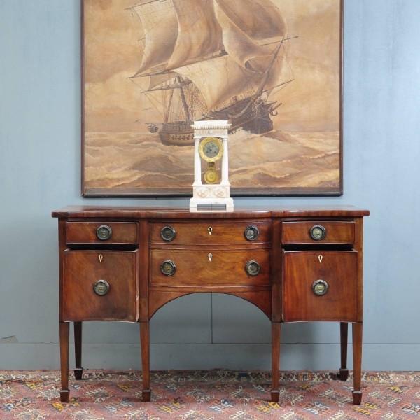 English Mahogany Sideboard De Grande Antique Furniture