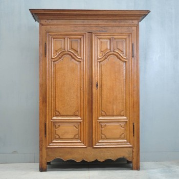 Antique French Oak Armoire