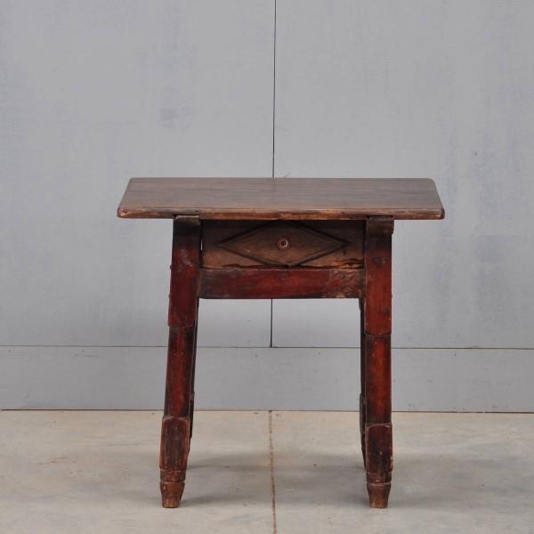 Antique French Oak stool