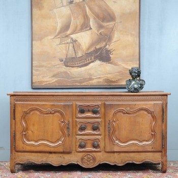 Antique Louis XV oak dresser