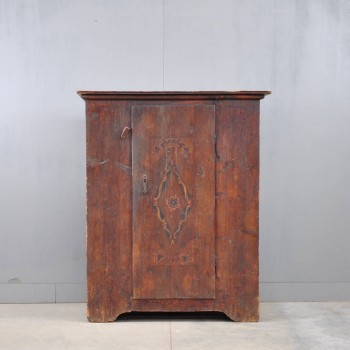 Antique Original painted cabinet