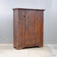 Antique Original painted cabinet