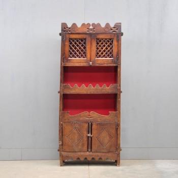 antique spanish kitchen cupboard