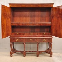 Antique walnut dutch cabinet