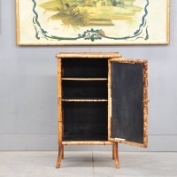 Bamboo and Lacquer cabinet