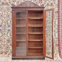 Directoire style Mahogany bookcase