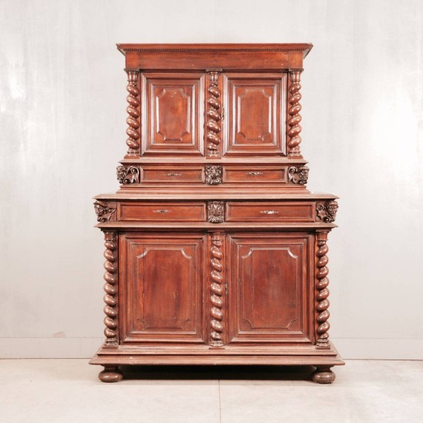 Louis XIII walnut cabinet