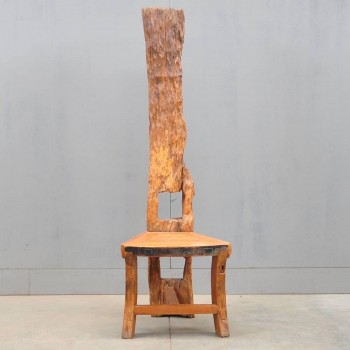 Primitive rustic chair