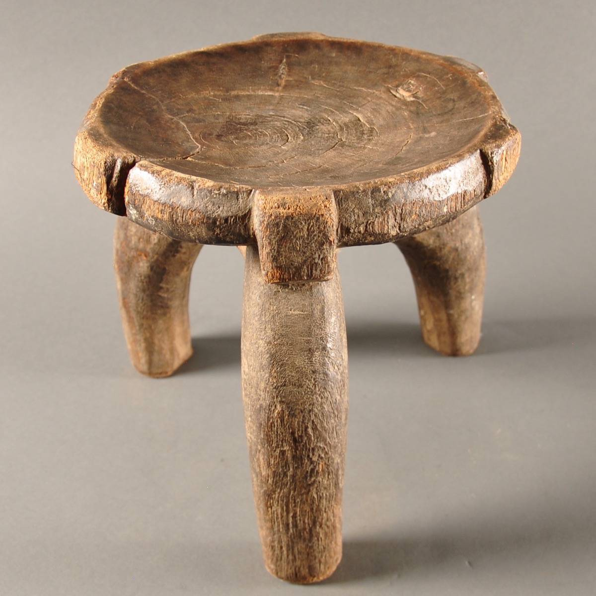 African Tribal Wooden Stool De Grande Antique Furniture