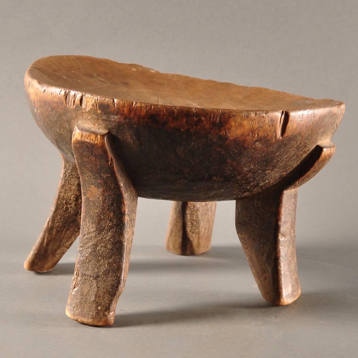 African Tribal Stool De Grande Antique Furniture