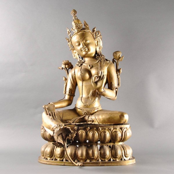 Antique Bronze Buddha | De Grande Fine Arts and Early Objects
