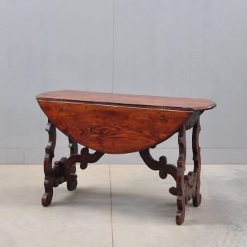 Italian drop-leaf table | De Grande Antique Furniture