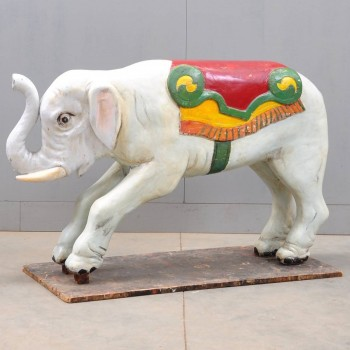 Antique Elephant from a merry-go-round | De Grande Early Objects