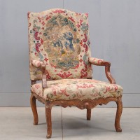 Antique French Régence armchair | De Grande Antique Furniture