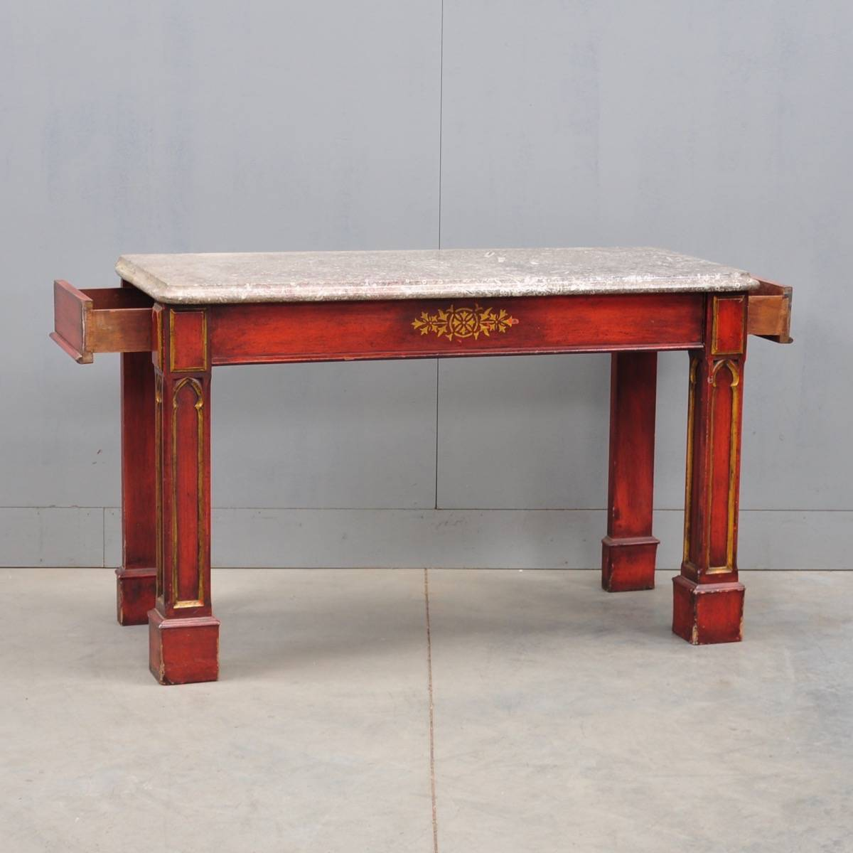 Gothic Style Console Table De Grande Antique Furniture