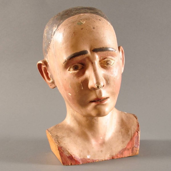 Antique Italian head | De Grande decorative Objects