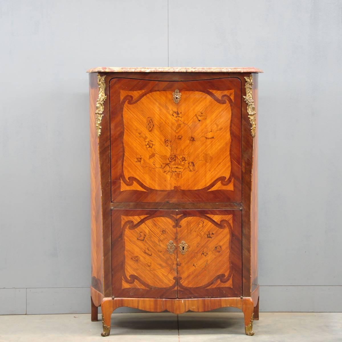 Louis Xv Style S Cretaire De Grande Antique Furniture