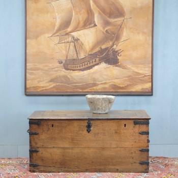 Antique oak Coffer | De Grande Early Antique Furniture