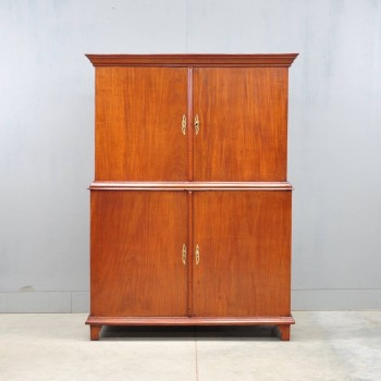 Dutch Four doors Mahogany Cabinet | De Grande Antique Furniture