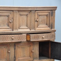 English carved Oak cupboard | De Grande Antique Furniture
