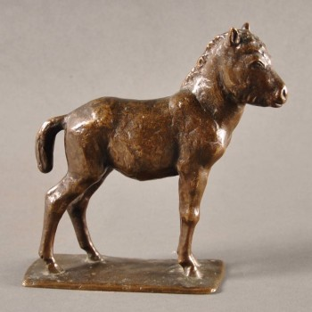 Antique french Bronze Sculpture of a pony