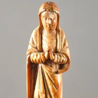 Late Gothic Statue of Virgin Mary