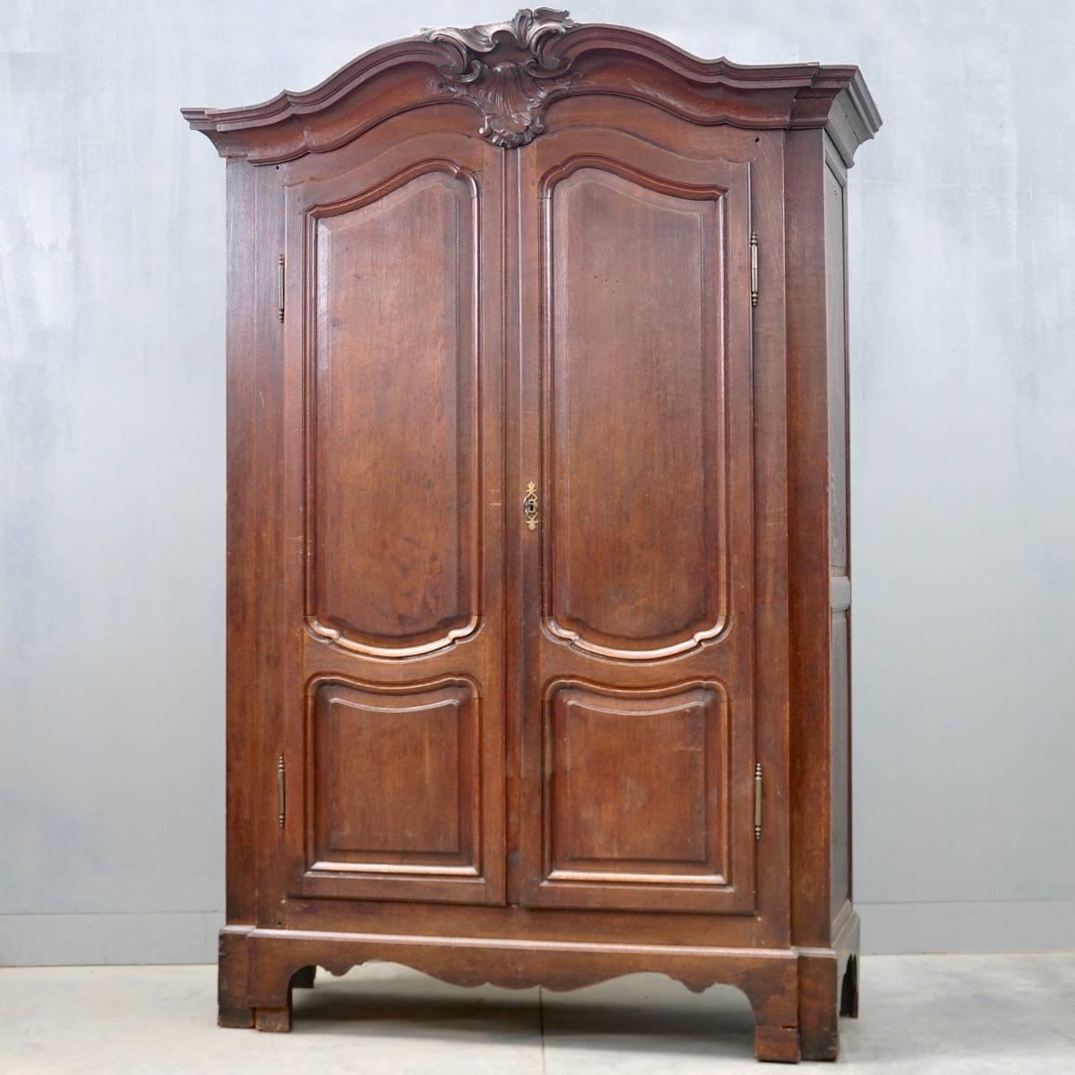 - Namur Regent Oak Armoire De Grande Antique Furniture