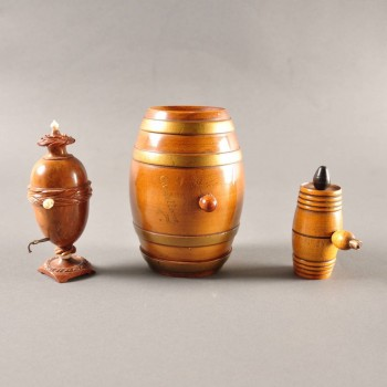 Set of Treen Objects - 19th century Antiques