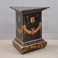 19th century decorated stand | De Grande Antique Furniture