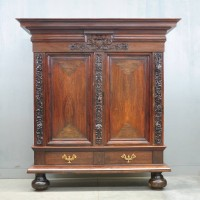 Dutch Rosewood rankenkast | De Grande Antique Furniture