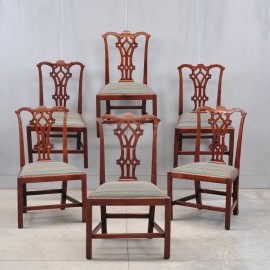 Set of Antique English mahogany chairs | De Grande Antique Furniture