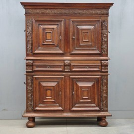 Antique French 4 door cabinet | De Grande Antique Furniture