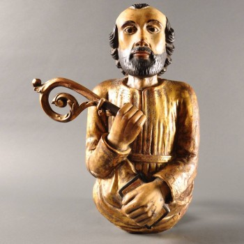 French Bust of an evangelist | De Grande early sculptures
